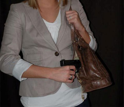 Off body holster carry