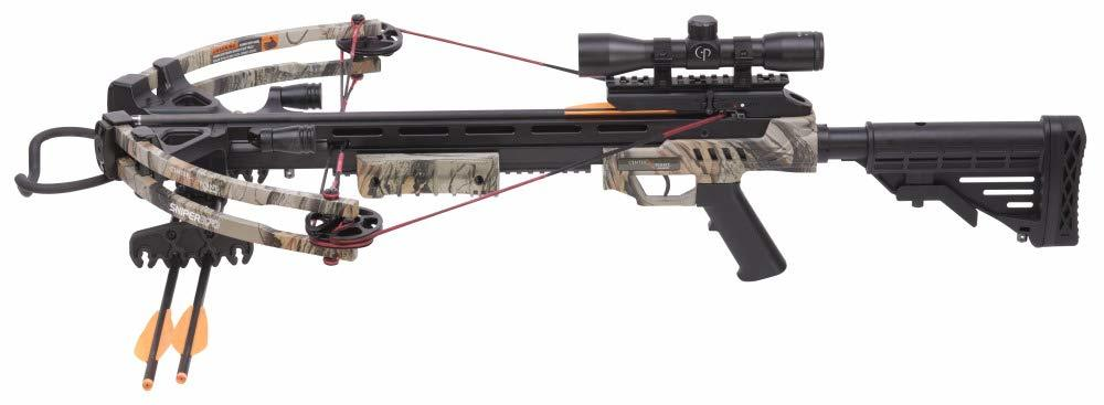 CenterPoint Sniper 370 - Camo Crossbow