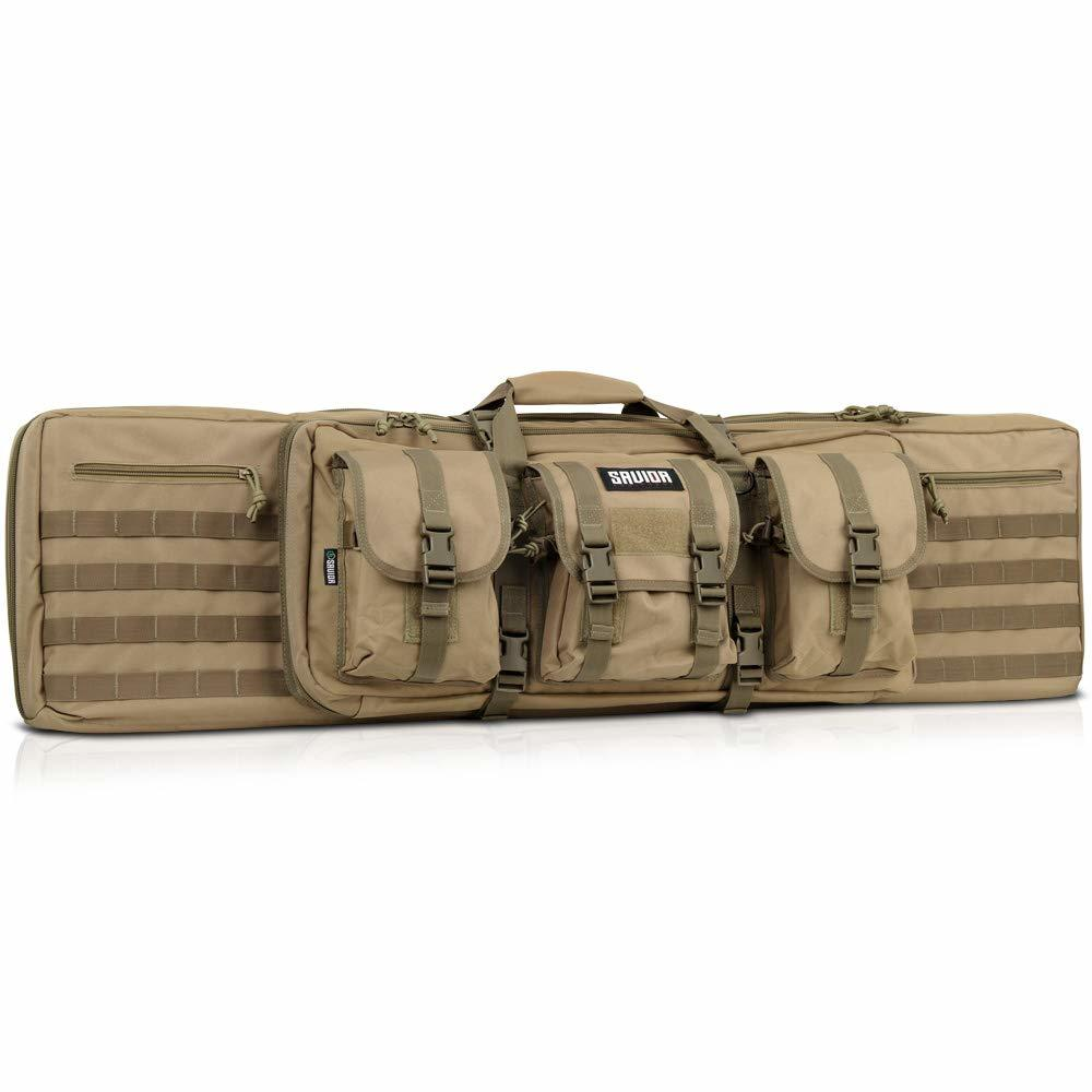 Savior Equipment American Classic Tactical Double Long Rifle Pistol Gun Bag Firearm Transportation Case