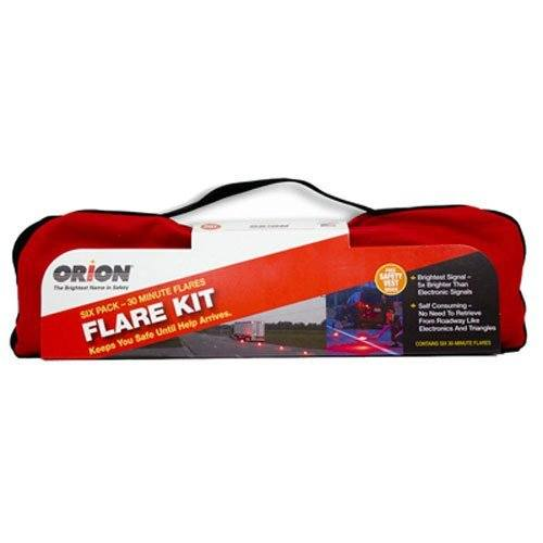 The Original Highway Flare Kit (6-Pack Emergency Flare Kit)