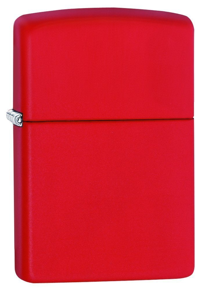 Zippo Matte Pocket Lighters red matte