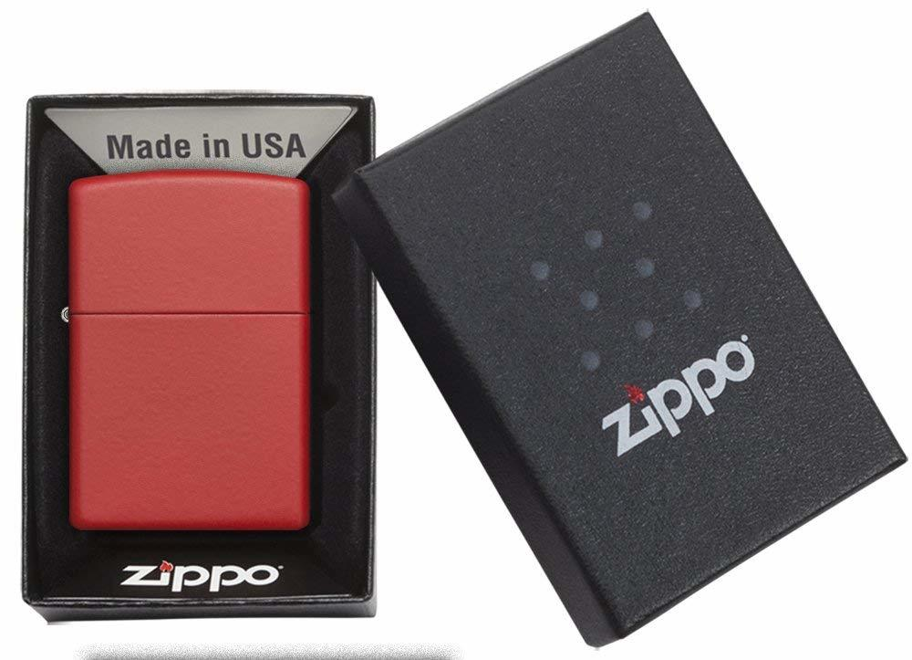 Zippo Matte Pocket Lighters